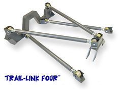 Trail-Link Four Rear Link Suspension Kit: Jeep Xj, Jeep Rubicon, Rat Rod Build, Kart Cross, Navara D40, Customised Trucks, Tube Chassis, Off Road Buggy, Trophy Truck
