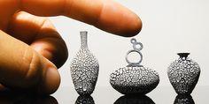 Miniature Hand Thrown Pottery by Jon Alameda
