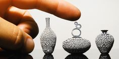 mayahan:  Miniature Pottery by Jon Almeda