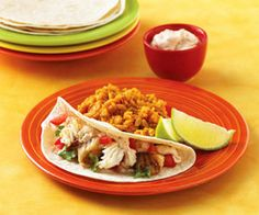 This 30-minute dinner turns fish fillets into tacos by putting them into tortillas and adding fresh toppers. Make it for a fun weeknight meal.