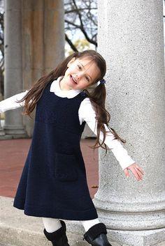 School Uniform Jumper - via @Craftsy