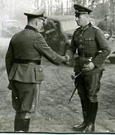Field Marshal Rommel in Normandy, France,1944.