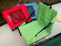 Sit back seat - #clips to #canoe seat & can be used #anywhere-camping, concerts n, View more on the LINK: http://www.zeppy.io/product/gb/2/252434437353/