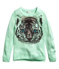 Tiger Sweater