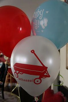 party love ♥: vintage toy baby shower