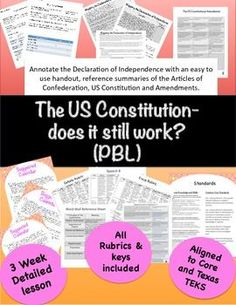Applying the Principles of the Constitution Match each statement ...