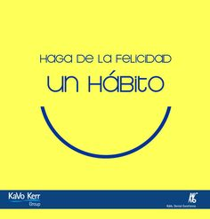 Make happiness a habit.:separator:Make happiness a habit. Smile Design, Dental Care, Teeth, Happy, How To Make, Happiness, Orthodontics Marketing, Dental Health, Orthodontics