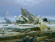 Caspar David Friedrich - Das Eismeer
