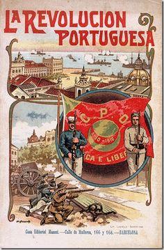 A revolução de 5 de Outubro de 1910 que deu origem à implantação da República em…