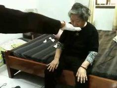chữa bệnh nhân bị tai biến --phần 1---kiều linh anh truong