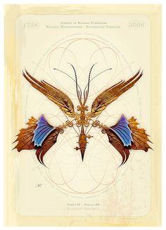 Study, mechanical butterfly flight dynamics | Artist: Whale Man Mechanical | flickr.com
