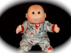 Soft Sculptured Dolls Bald Baby Boy Doll by puppythreads on Etsy