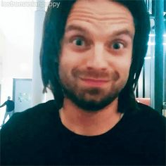 He is so fucking precious oh my fucking god. Every time I see this gif, I can't not smile. It is so fucking cute omg *heart eyes* <3