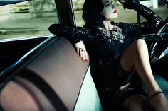 Who is Dita Von Teese? Lifestyle Mirror. Photographed by Francesco Carrozzini. Styled by Laura Duncan.