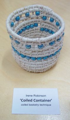 Irene's Coiled Basket