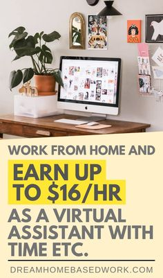 This is a great opportunity for Virtual Assistants!  Time Etc. hires people to work at home completing Virtual Assistant tasks. In today's review, we will discuss Time Etc., where you can earn up to $16/hr.  Pin to read later!   #virtualassistant #makemoneyonline #legitimate Home Based Work, Work From Home Jobs, Make Money From Home, How To Make Money, Work For Hire, Home Blogs, Home Business Opportunities, Virtual Assistant Services, Online Assistant