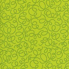 Manufacturer: Timeless Treasures (owl-c8372-lime) Designer: Alice Kennedy Collection: Bright Owl Print Name: Swirl in Lime