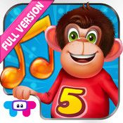 5 Little Monkeys – All In one Educational Activity Center and Sing Along #Kids App
