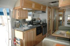 Image detail for -Airstream interior tours - Thor years