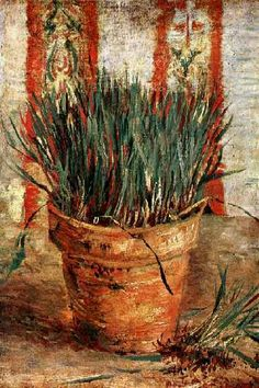 Vincent van Gogh: The Paintings (Flowerpot with Chives)