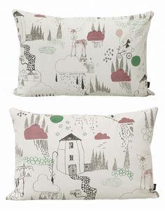 'In the Rain' cushion by Ferm Living