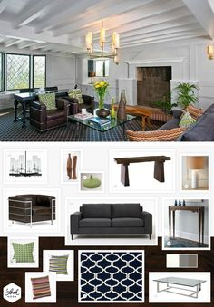 Get The Modern Look For Your Living Room From Jeff Lewisu0027 Gramercy House / /