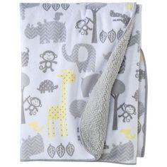 Circo® Soft Valboa Baby Blanket - Zigs 'n Zags