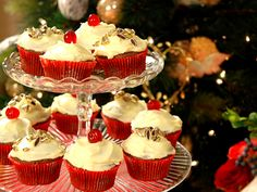 Christmas cupcakes (kock Leila Lindholm)