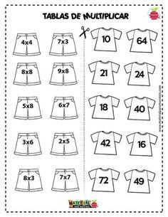 Evangelina gentiletti s 381 media analytics – Artofit Math Multiplication Worksheets, Kids Math Worksheets, Math Activities, Division Activities, Preschool Math, Math Classroom, Teaching Math, Primary Maths, Primary School