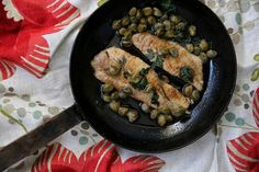 BROWN BUTTER FISH WITH LEMON