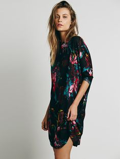 Free People Hannah Printed Knit Dress, $148.00
