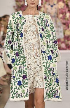 #OscardelaRenta #ss15 #fashion #fashionblogger #giokathleen
