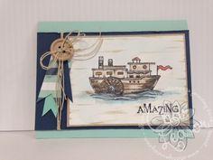 Fun Stampers Journey..... Nautical Sketch 3     www.charsjourney.com