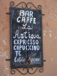 Cafe in Valladolid