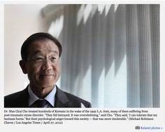 """LA Times: """"Koreans suffered outsized losses: More than 2,000 Korean-run businesses were damaged or destroyed, with an estimated $400 million in losses. Two-thirds were not insured....But the cost went deeper. Many Koreans lost their bearings in the L.A. riots."""""""