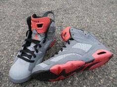 Air Jordan 6 'PIGEON' Custom Sneakers Ⓙ_⍣∙₩ѧŁҝ!₦ǥ∙⍣
