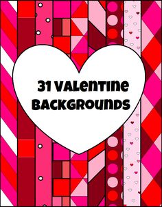 This zip files includes 31 Valentine's Day themed backgrounds for you to use for your products on TpT or other products/materials for your classroom. It also Includes a picture guide to show you how to install them. You may alter them to fit your needs personally and commercially. Please provide a link back to this page!
