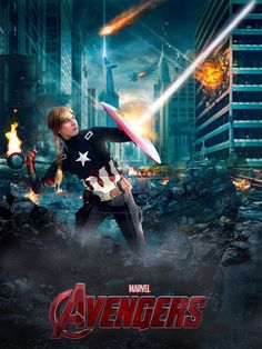 Female Captain America - Civil War #12 by MicJacSmile on @DeviantArt