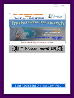 Tradeindia research paper