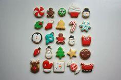 iBakery mini Christmas cookies