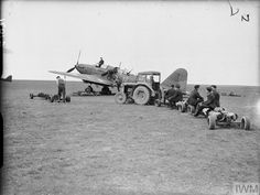 Vintage Tractors, Battle Of Britain, Ww2 Aircraft, Dark Skies, Royal Air Force, Military Vehicles, World War, Wwii, Aviation