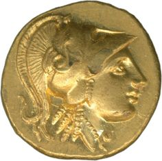 Greece: Amphipolis 330-320 gold stater 8.62 g, head of Athena with Corinthian helmet, freshly minted    Dealer  Schwanke GmbH    Auction  Minimum Bid:  750.00 EUR