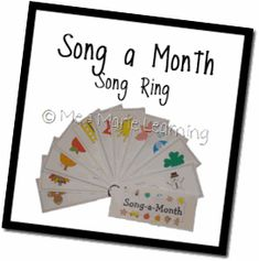 Song Rings for Circle Time