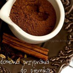 Domowa przyprawa do piernika Pasta Recipes, The Cure, Pudding, Cooking, Sweet, Canning, Kitchen, Candy, Custard Pudding