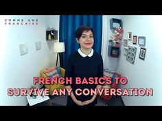 These French words and expressions will help you build connections with French people and make French conversation easier. GET MORE FREE FRENCH LESSONS → htt. Useful French Phrases, Basic French Words, Learn French Online, Learn To Speak French, French Prepositions, Free French Lessons, French Basics, French Conversation, French Expressions