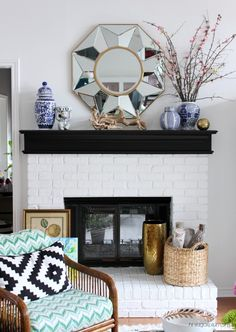 """Before & After! """"The Living Room Makeover That Led To A Bidding War"""" (We might consider staying put after this gorgeous transformation) Hi Sugarplum 