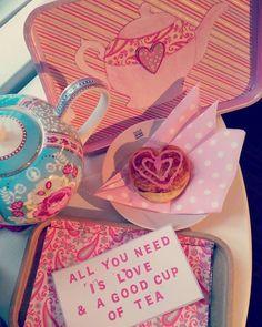 #leivojakoristele #ystävänpäivähaaste Kiitos Tiina P. Tea Cups, Cup Of Tea