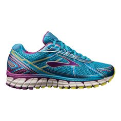 Sink your feet into an ultra smooth, uber dependable ride with the latest update in the ever popular Adrenaline GTS series - the Womens Brooks Adrenaline GTS 15
