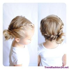 Two twists into a side messy bun Toddler Hairstyles Girl BUN Messy Side Twists Baby Girl Hairstyles, Pretty Hairstyles, Easy Hairstyles, Short Hairstyles For Kids, Easy Toddler Hairstyles, Easy Little Girl Hairstyles, Hairdos, Updos For Kids, Hair For Kids