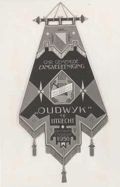 some musical organization banner, dutch
